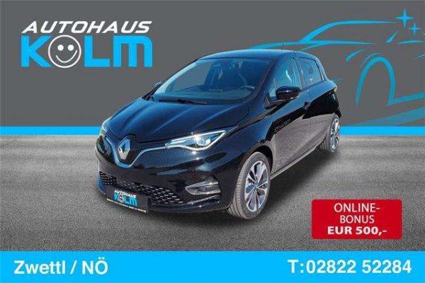 Renault ZOE Intens R135 Batteriemiete bei Autohaus Kolm GmbH in