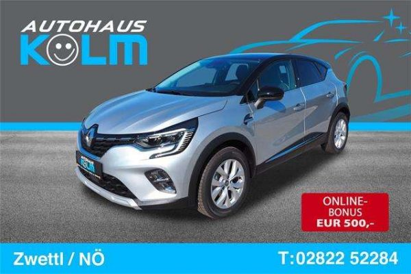Renault Captur Intens Blue dCi 115 EDC bei Autohaus Kolm GmbH in