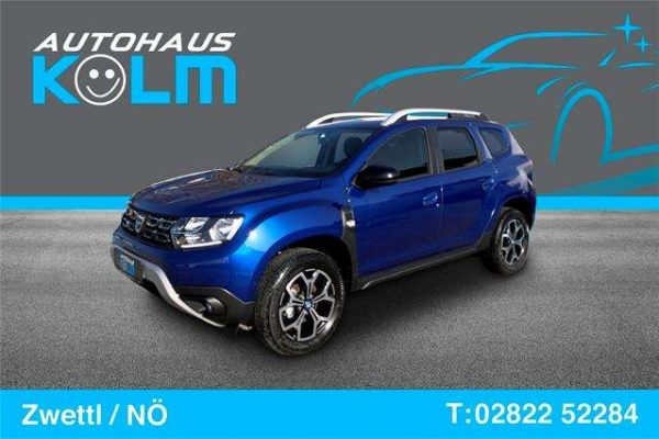 Dacia Duster Celebration Blue dCi 115 S&S  4WD bei Autohaus Kolm GmbH in