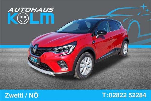 Renault Captur Intens Blue dCi 115 bei Autohaus Kolm GmbH in