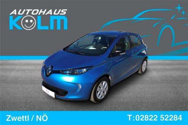 Renault ZOE Zoe Life R90 41 kWh (Batteriemiete) bei Autohaus Kolm GmbH in